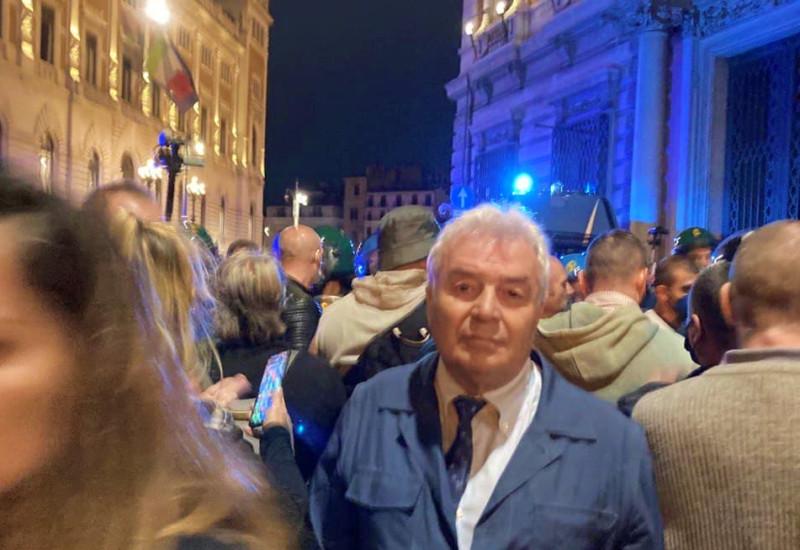 Angelo Giorgianni - Roma - Piazza del Popolo - 09 ottobre 2021
