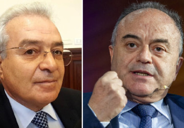 Angelo Giorgianni e Nicola Gratteri