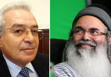 Giorgianni e Amnon Yitzhak