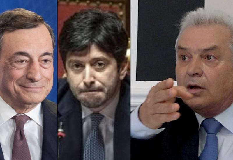 Draghi, Speranza, Giorgianni