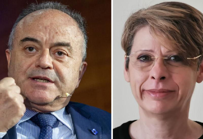 Nicola Gratteri e Carla De Cesare